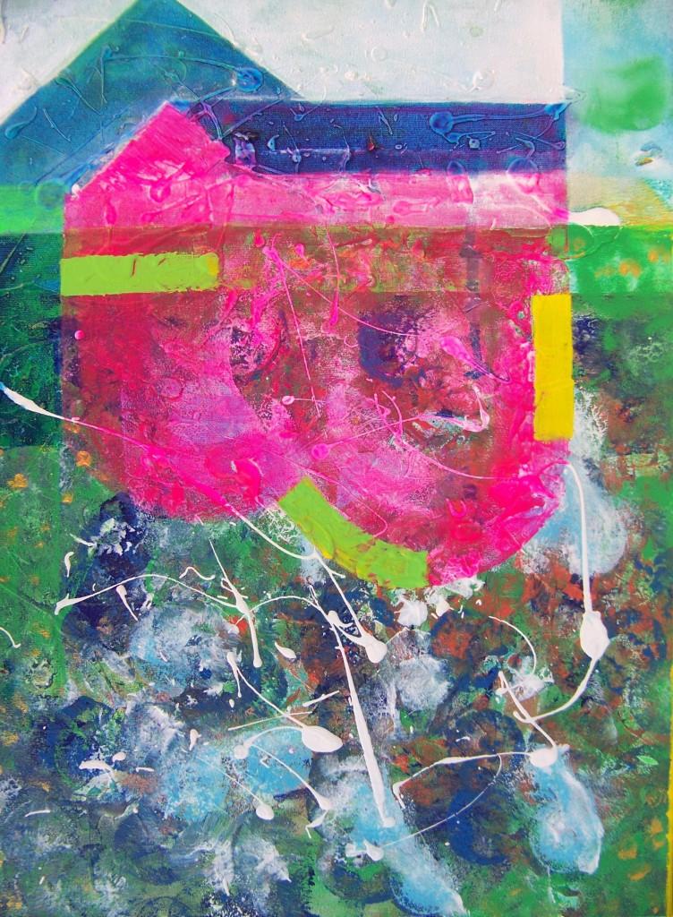 Irena I. Imanska - Acryl, Fresco, Leinwand,40 X 30 Cm.