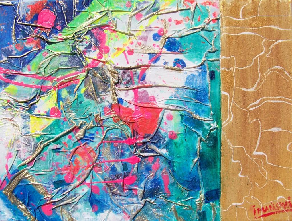 Irena I. Imanska - Acryl, Fresco, Leinwand, 40 X 30 Cm.