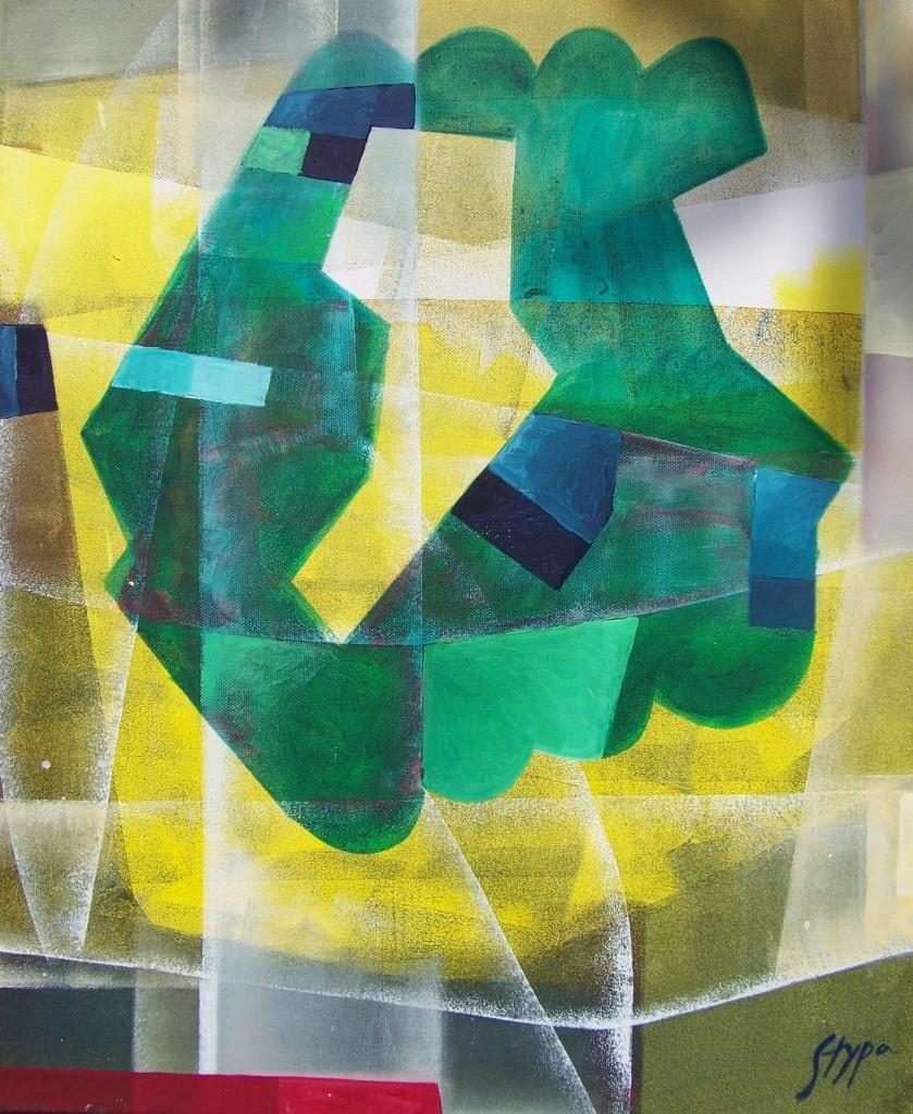 Witold Stypa - akryl na płótnie - 50 cm x 60 cm - 2012