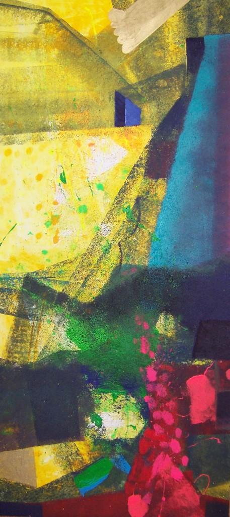 Witold Stypa , akryl na płótnie, 200 cm X 90 cm, 2014